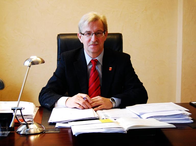 Burmistrz Henryk Brzyszcz