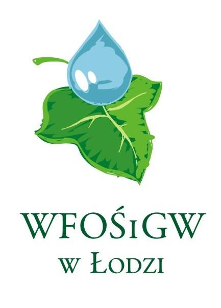 Logo Wojewódzkiego Funduszu Ochrony Środowiska i Gospodarki Wodnej w Łodzi